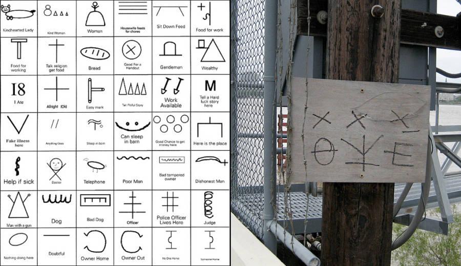 code-hobo-symbols-warnings-communicate-signs